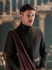 Aidan Gillen as Petyr Littlefinger Baelish.