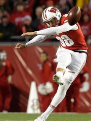 Wisconsin's P.J. Rosowski recorded touchbacks on 51