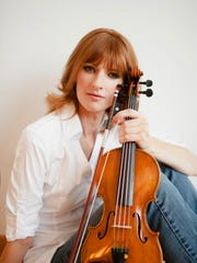 """Holly Mulcahy, concertmaster at the Chattanooga Symphony & Opera, will perform at """"Vino and Violin."""" a wine and music pairing at 7 p.m.  June 2 at the Robinson Film Center."""