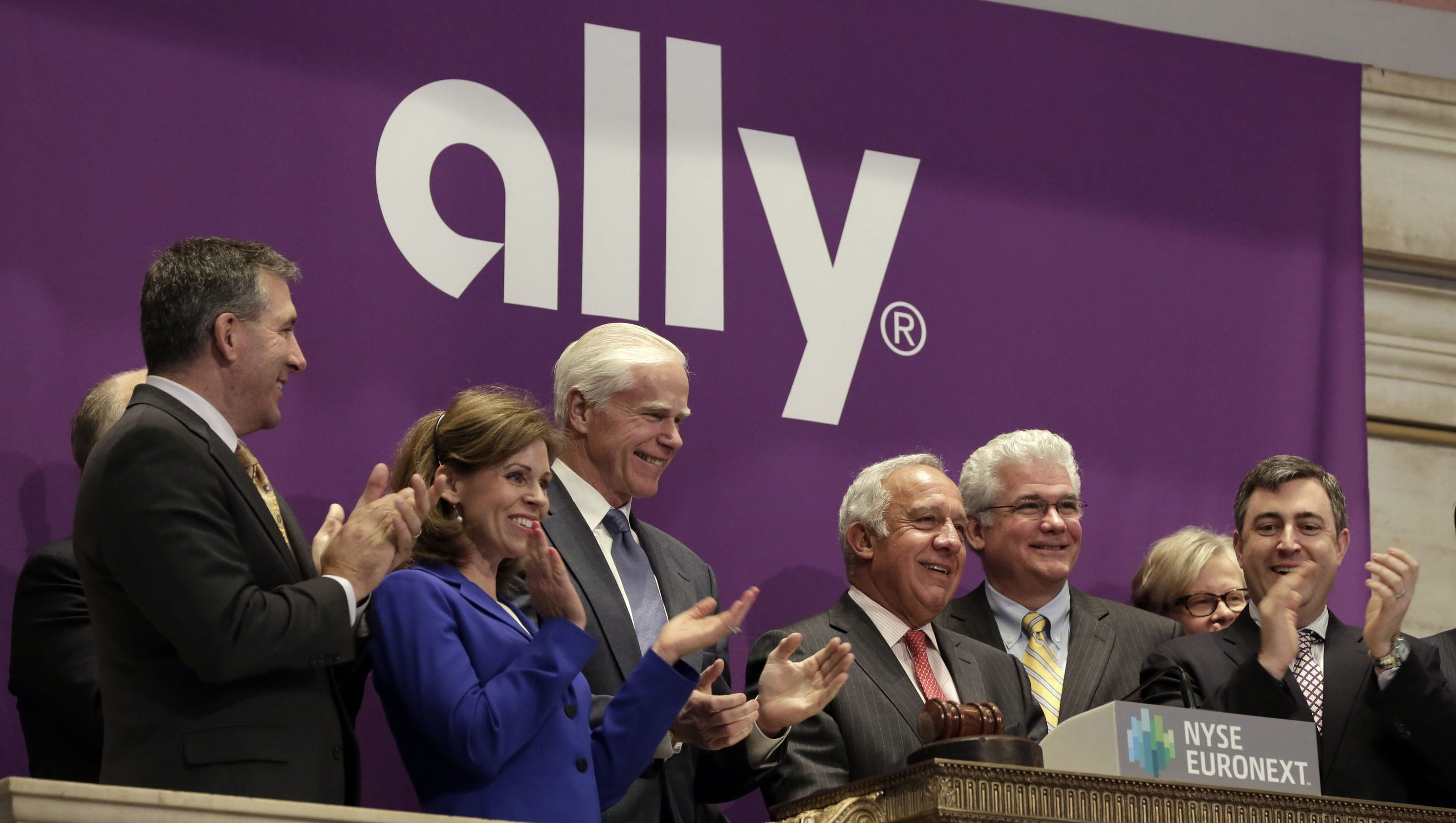 What are some services offered at Ally Bank branch locations?