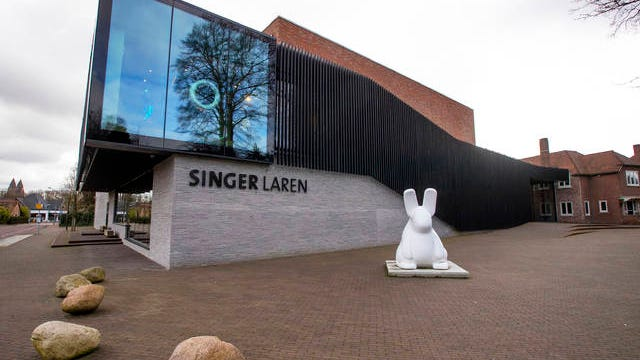 Exterior view of the Singer Museum in Laren, Netherlands on Monday. Police are investigating a break-in at a Dutch art museum that is currently closed because of restrictions aimed at slowing the spread of the coronavirus, the museum and police said Monday.