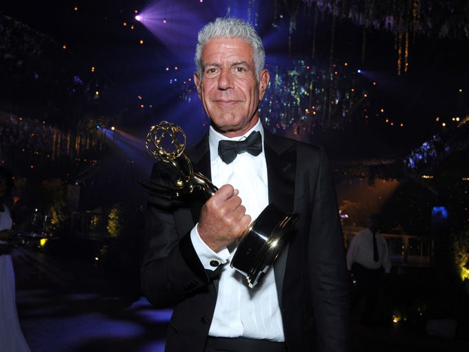 TV host Anthony Bourdain died June 8 at 61.