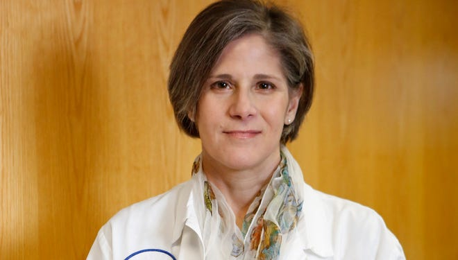 Dr. Patricia Pollio, director of OBGYN at Good Samaritan Hospital, is photographed March 20, 2014 at the hospital in Suffern.