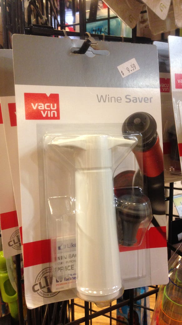 Bernd Schneider came up with the idea of the Vacu Vin