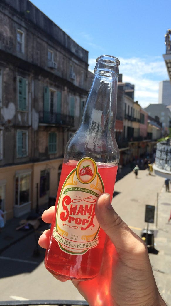 Swamp Pop's seasonal Ponchatoula pop rouge is now back