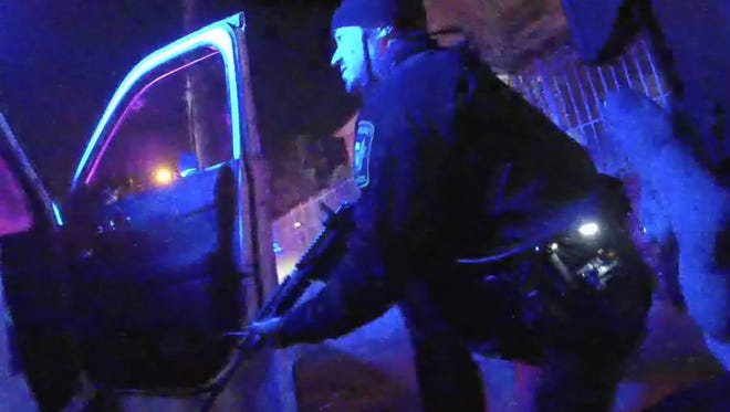 Body camera footage from an incident Cincinnati Police Department incident on Reading Road Thursday.