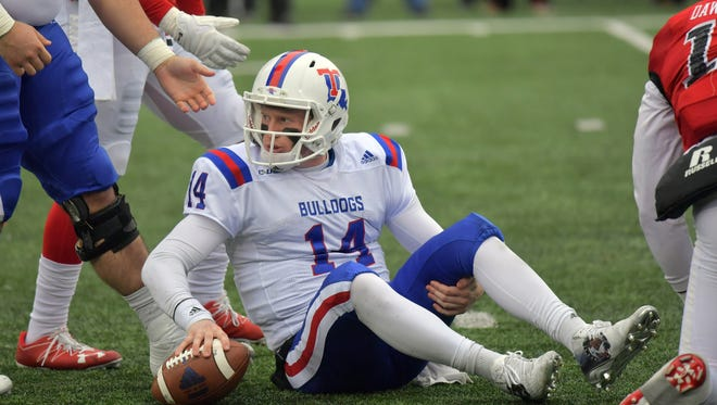 Louisiana Tech quarterback Ryan Higgins (14) has a chance to become just the second Tech QB to throw for 4,000 yards and 40 TDs.