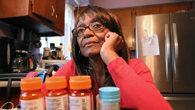 Denise Scott, 64, is concerned about how much Medicare will pay for her prescriptions in the future.