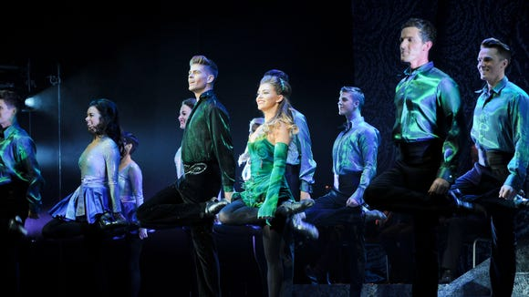 """Riverdance – The 20th Anniversary World Tour,"" performed to the delight of the audience at Downtown's Plaza Theatre on March 5."