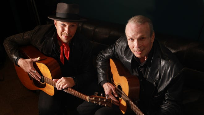 Dave and Phil Alvin are known for their work in The Blasters. Photo by Jeff Fasano
