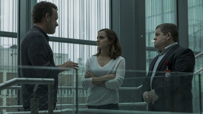"Tom Hanks, Patton Oswalt and Emma Watson appear in ""The Circle."""