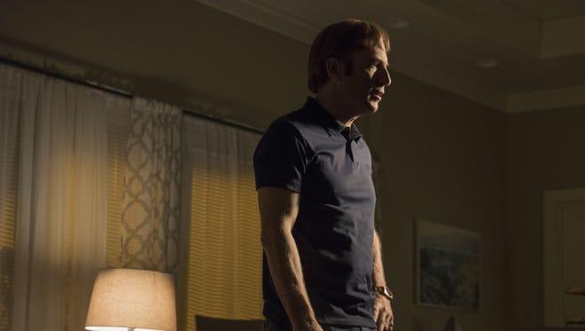 Bob Odenkirk as Jimmy McGill on 'Better Call Saul.'