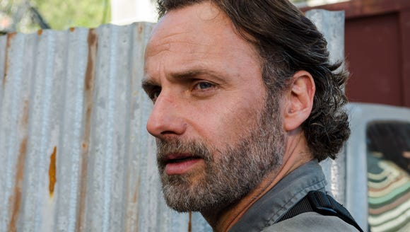 Andrew Lincoln as Rick Grimes on 'The Walking Dead'