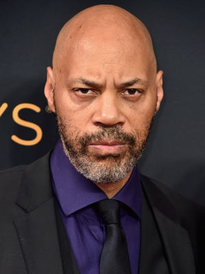 """""""American Crime"""" writer-producer John Ridley attends the 68th Annual Primetime Emmy Awards on Sept. 18 in Los Angeles."""