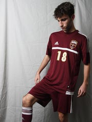 Will Kautsky from Arlington High School is the boys soccer Defensive Player of the Year.