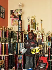 Ellie Carey, 6, began racing BMX when she was 4-years-old,