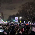 Thousands protest in Washington, New York City in defiance of Trump