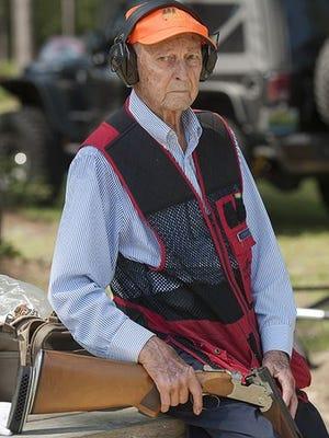 At 93-years-old, Lee Bonifay, is one of the oldest members of the Santa Rosa Skeet Shooting Club.