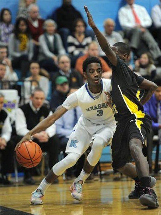 2014-15 Bishop Kearney basketball vs. McQuaid - Quinton Rose