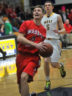 JP Lacy and the Lumberjacks head to Stevens Point Friday to face the top-ranked Panthers in a WVC boys basketball game