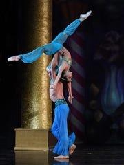"""The Arabian dance in """"The Nutcracker."""""""