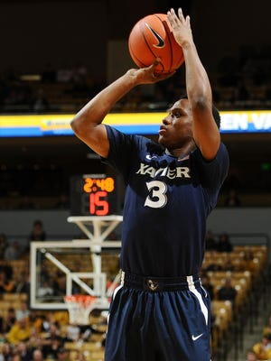 Xavier's Brandon Randolph had 11 points on Saturday - all in the 1st half.