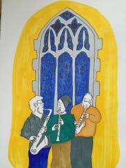 Ypsilanti sketch artist Sarah Elizabeth Campbell has