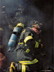 """Submitted photo of Rich Garrison. He has spent much of his life protecting others as a Baltimore City firefighter and in U.S. Army Special Forces. """"The fire department, you can relax and then, all of a sudden, when the alarm goes, all of that adrenaline kicks in."""""""