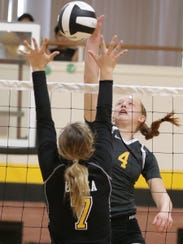 Eastwood volleyball defeated Loretto Tuesday in three