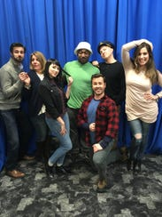 """The Seven Castaways"" cast, from left: Mitch Koory,"
