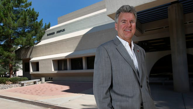 James Hoffman, Dean of New Mexico State University's College of Business.
