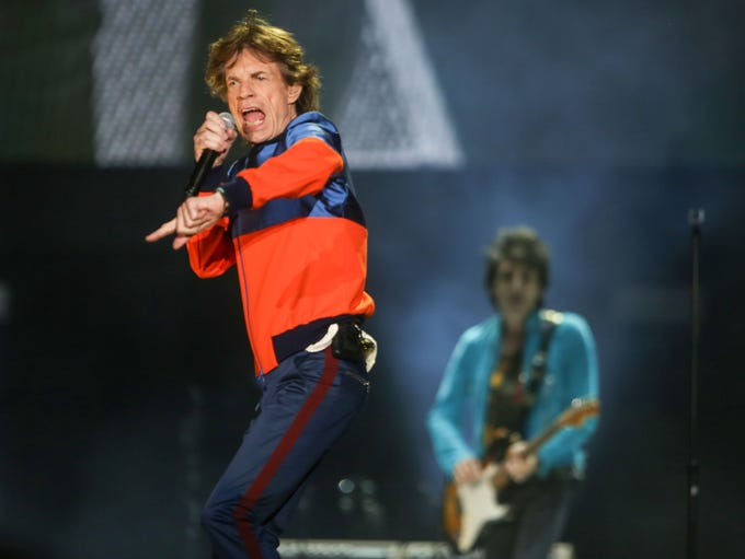 The Rolling Stones perform at Desert Trip, October
