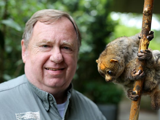 Mike Dulaney, the curator of mammals at the Cincinnati