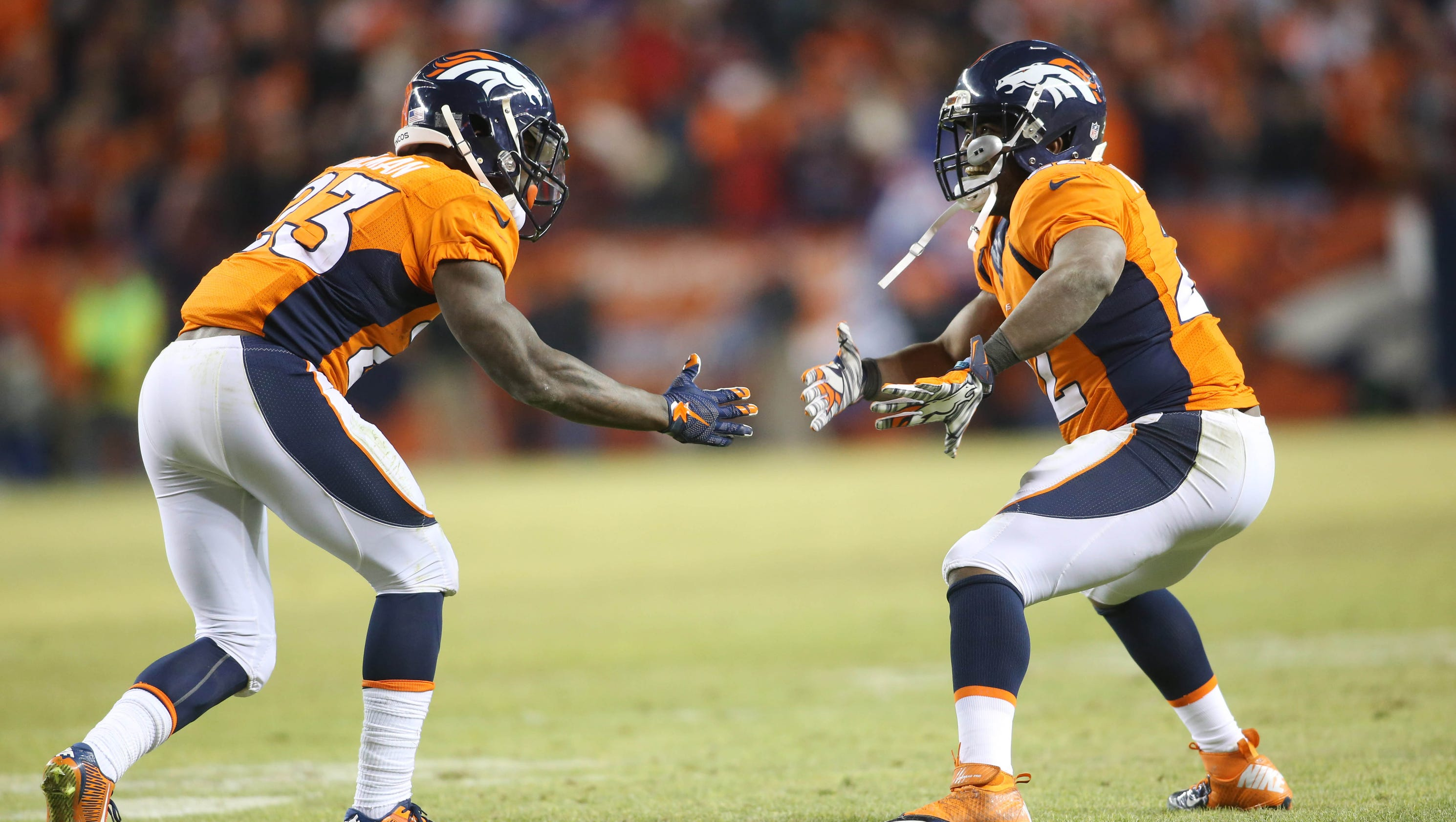 Broncos Rbs Know Playoff Hopes Might Come Down To Them