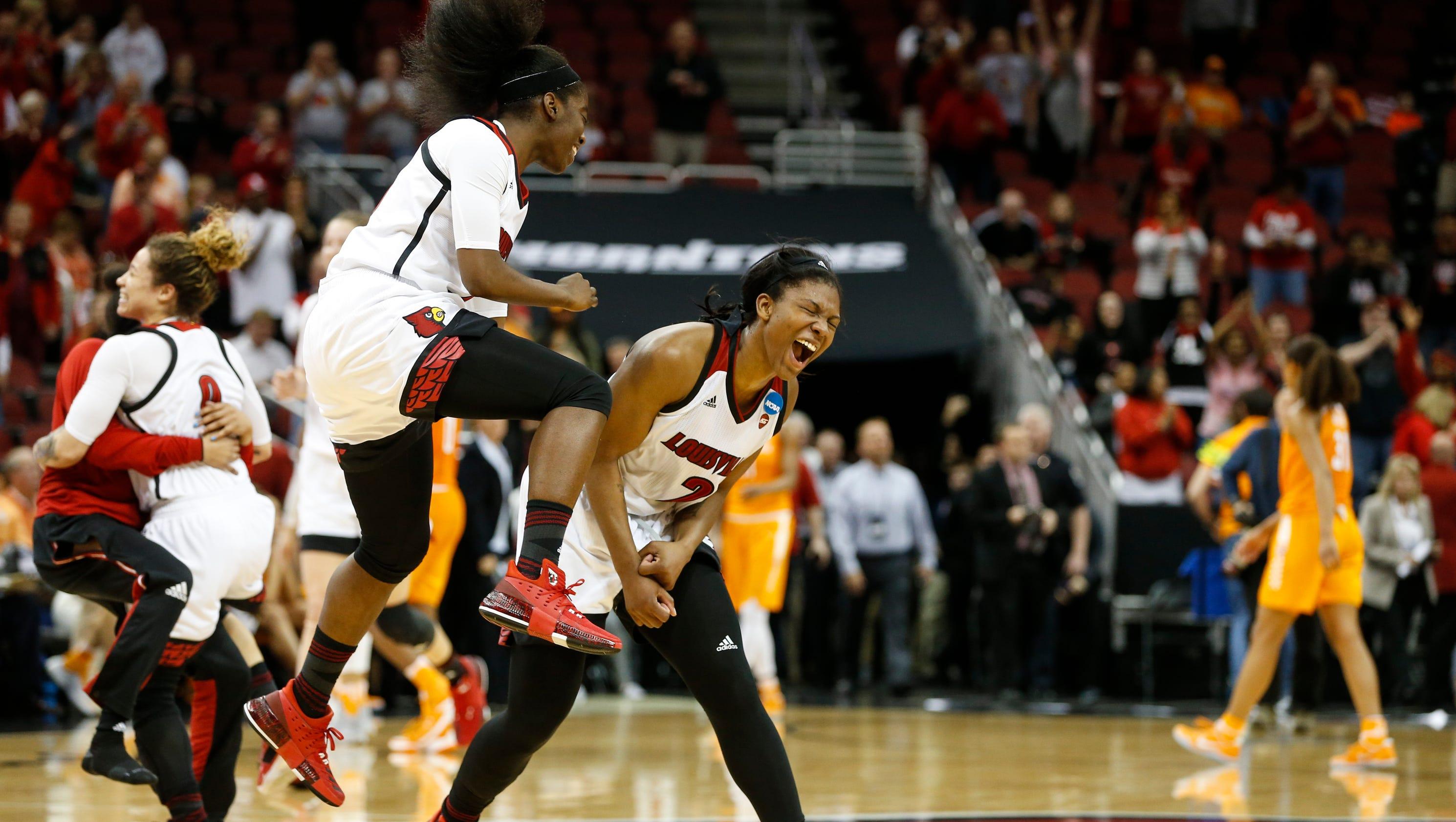 Louisville women's basketball | UConn highlights 2017-18 ...