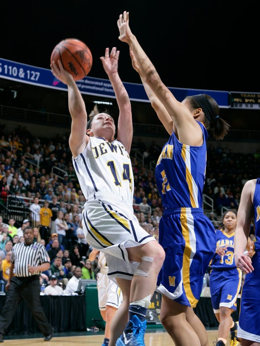 DeWitt vs Bloomfield Hills Marian MHSAA Girls Basketball Finals