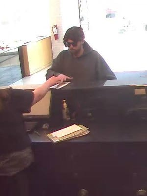 Brick police say this man robbed a TD Bank. They identified him as Joseph Mason of Staten Island, New York.