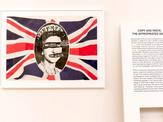 """""""Too Fast to Live, Too Young to Die: Punk Graphics, 1976-1986"""" includes the work of Jamie Reid, who helped define  the visual representation of the punk rock movement through his work with the Sex Pistols."""