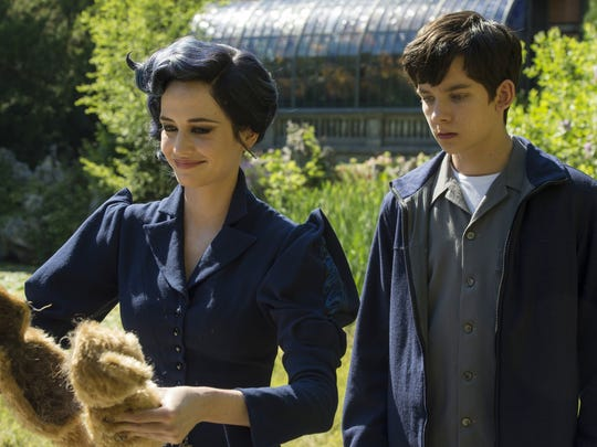 Eva Green and Asa Butterfield appear in a scene from