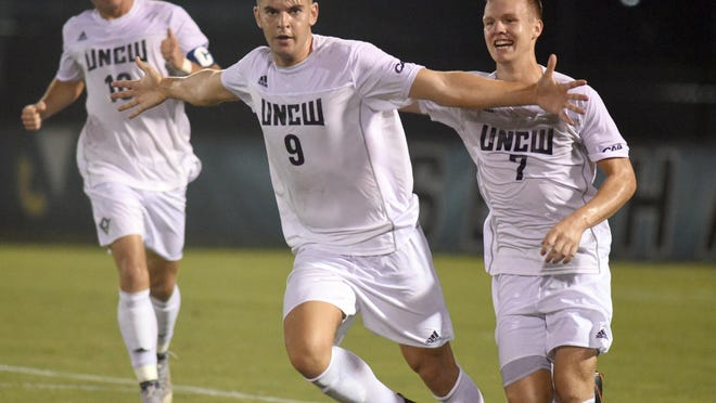 Celebrations at UNCW Soccer Stadium will have to wait until the spring after the school and the remainder of the CAA programs put fall sports on hold for 2020.
