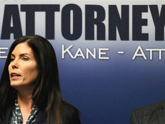 Pennsylvania Attorney General Kathleen G. Kane was charged Thursday with perjury, obstruction, abuse of office, conspiracy and false swearing.