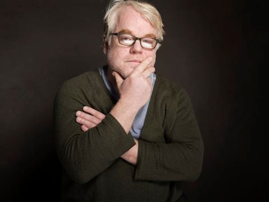 In this Jan. 19, 2014, photo, Philip Seymour Hoffman poses for a portrait at The GenArt Quaker Good Energy Lodge during the Sundance Film Festival, in Park City, Utah. Hoffman, who won the Oscar for best actor in 2006 for his portrayal of writer Truman Capote in 'Capote,' was found dead Sunday, Feb. 2, 2014, in his New York apartment. He was 46.