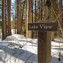 In this Northwoods forest, snow and serene skiing are guaranteed
