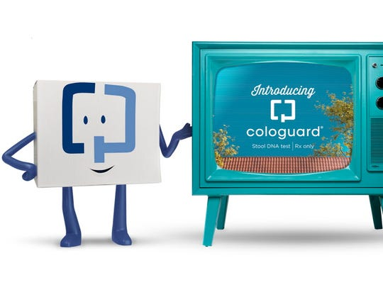 "This character, known as ""Little C.G.,"" has proven to be a successful marketing element in the efforts by Madison-based Exact Sciences to increase the use of its Cologuard non-invasive colorectal cancer screening kit."