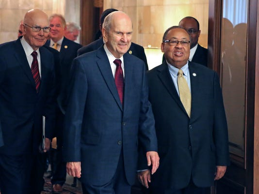 Russell M. Nelson, Leon W. Russell