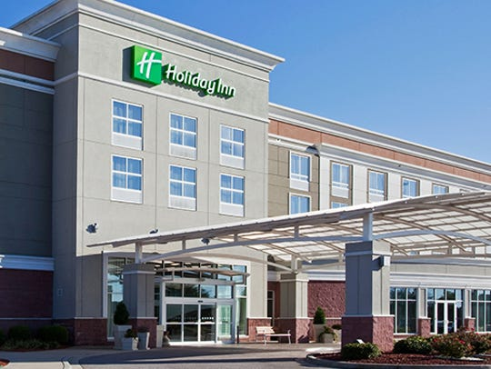 Artist's rendering of what the new Holiday Inn  will