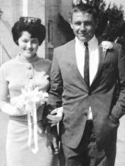 Mr. and Mrs. Jerry Boniol -- 1964