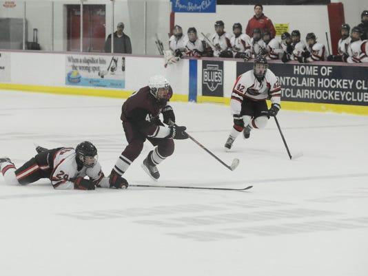Lakeland v. Clifton Ice Hockey Tournament Final