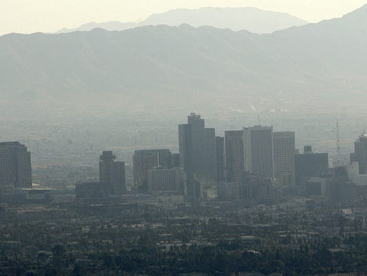 Aerial Air Pollution Phoenix