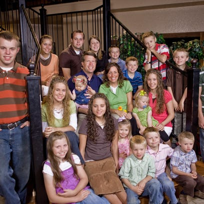 The Duggar family from TLC's '19 and Counting,' in